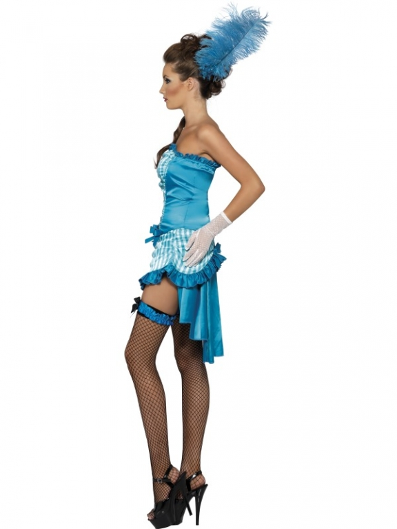 1920's Fever Flapper Elegant Lady Fancy Dress Costume